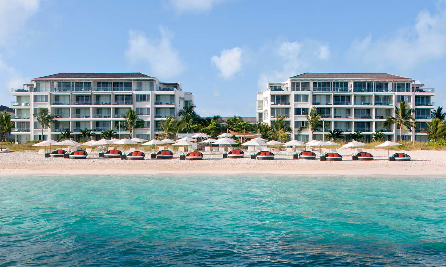 Gansevoort beachfront hotel in Turks and Caicos Islands