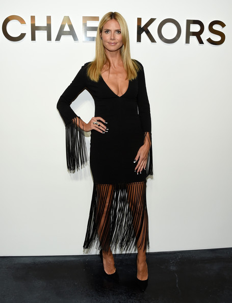 Heidi Klum wearing Michael Kors - courtesy of Stylebistro.com