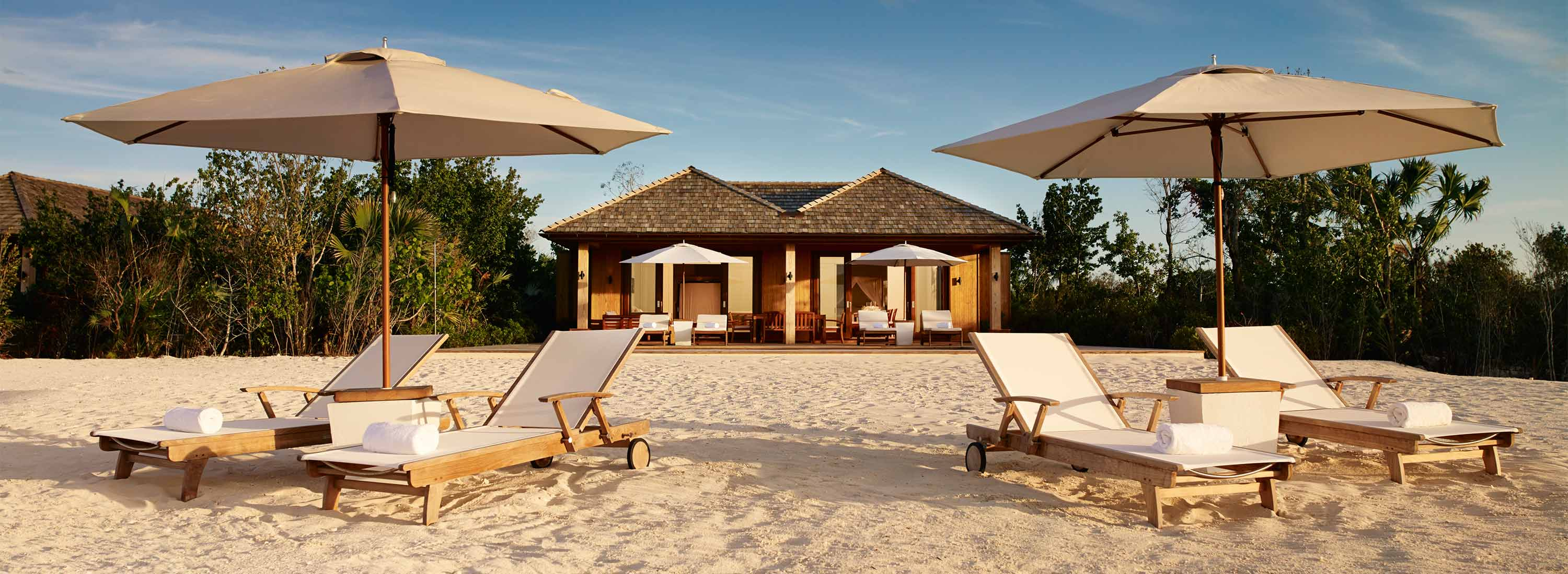 Parrot Bay by Como beachfront luxury resort in Turks and Caicos Islands