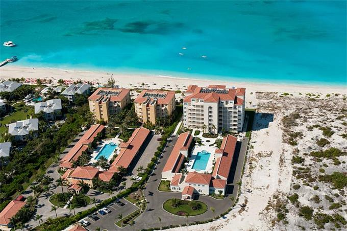 Venetian on Grace Bay Hotel, Turks and Caicos Islands beachfront