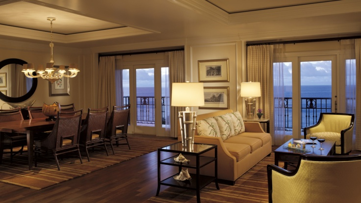 Royal Pacific Suite - Courtesy of ritzcarlton.com