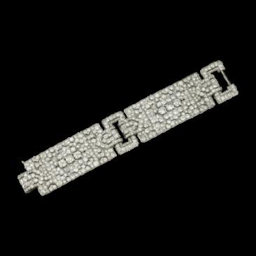 Antique Pieces - Platinum and Diamond Bracelet - courtesy of cartier.us