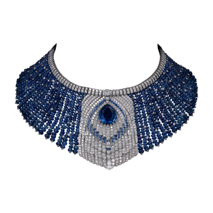 Cartier Royal Collection - Sapphire and Diamond Necklace - courtesy of cartier.us