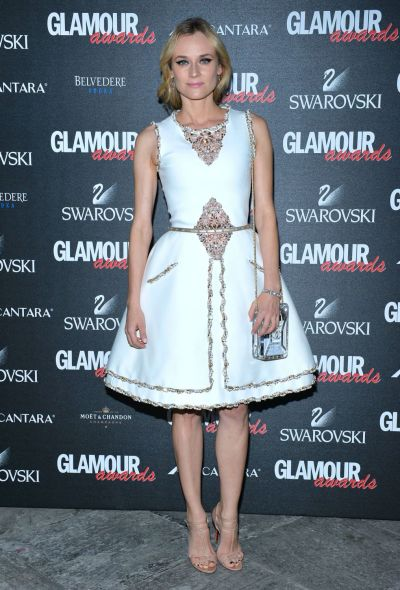 Diane Kruger in Chanel - Courtesy of fashionsizzle.com
