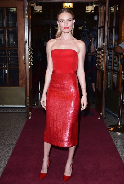 Kate Bosworth in Hugo Boss - Courtesy of whowhatwear.com