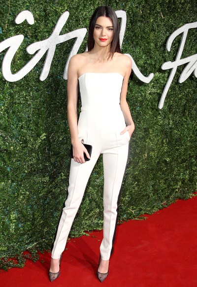 Kendall Jenner in Emilio Pucci - Courtesy of usmagazine.com