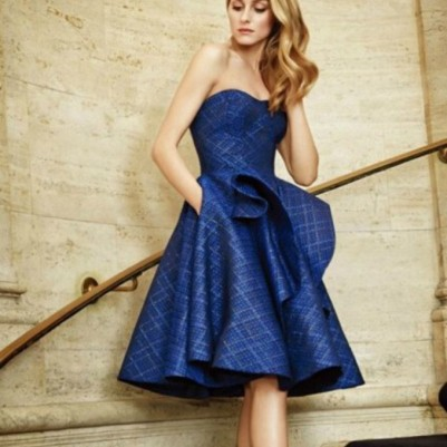 Olivia Palermo in Zac Posen - Courtesy of wheretogoetit.com