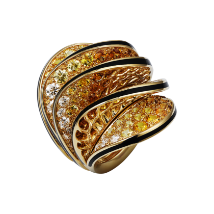 Paris Nouvelle Vague Ring in Yellow Gold - courtesy of cartier.us