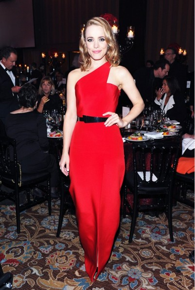 Rachel McAdams in Romona Keveza - Courtesy of whowhatwear.com