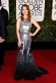 Julianne Moore in Givenchy with Chopard jewels