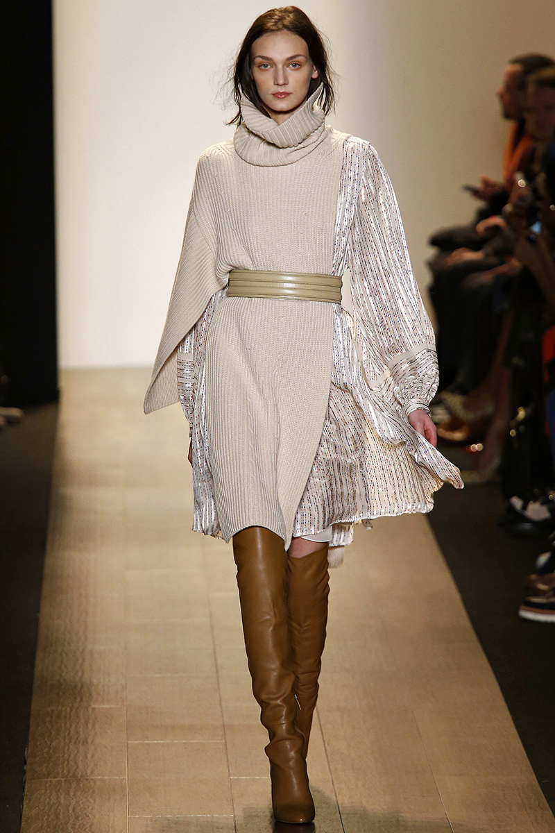 NYFW: BCBG Max Azria – Cozy Knit and Tactile Aesthetics ...