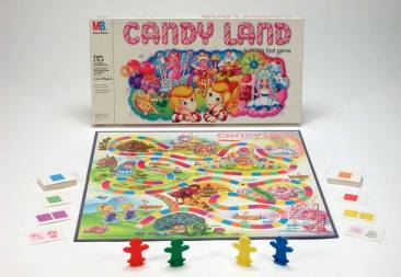 Candy Land - Courtesy of flavorwire.com