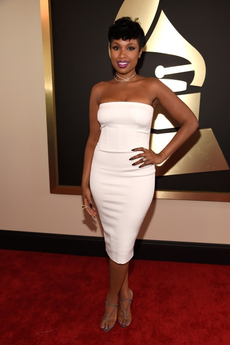 Jennifer Hudson in Tom Ford with Jimmy Choo shoes - Courtesy of style.com - Copy
