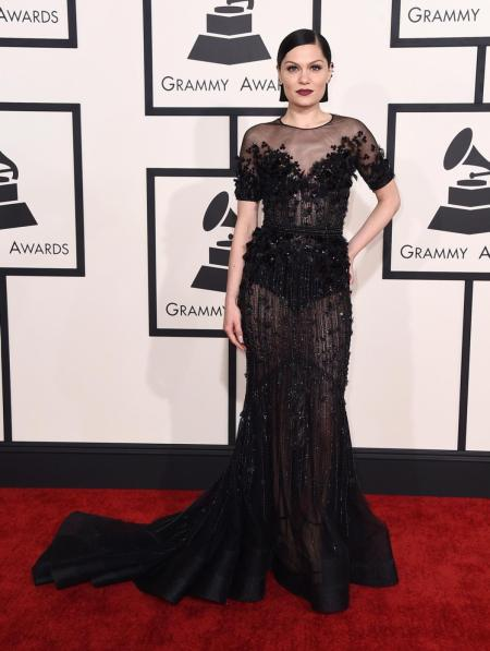 Jessie J in Ralph and Russo - Courtesy of nydailynews.com