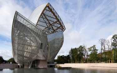 Louis Vuitton Foundation by Frank Gehry - Photo Courtesy of EPA-IAN LANGSDON