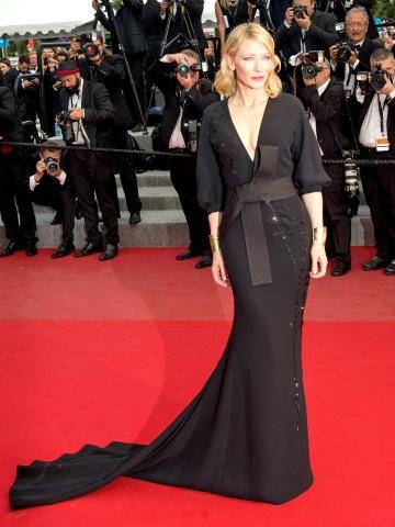 Cate Blanchett in Armani Prive - Courtesy of usmagazine.com