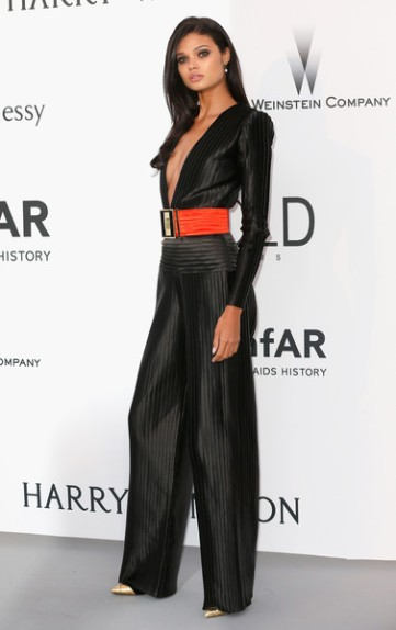 Daniela Braga in Balmain - Courtesy of stylebistro.com