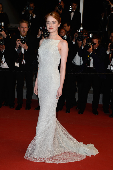 Emma Stone in Dior - Courtesy of ibtimes.co.uk