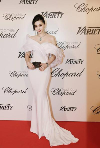 Fan Bingbing in Ralph and Russo - Courtesy of fashionsizzle.com