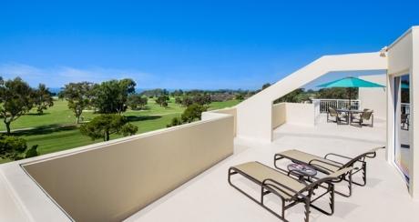 Terrace - Courtesy of hilton.com