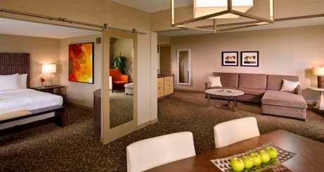 Terrace Suite - Courtesy of hilton.com