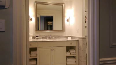 Premiere Suite Bathroom - Photo by TheLuxeLookbook
