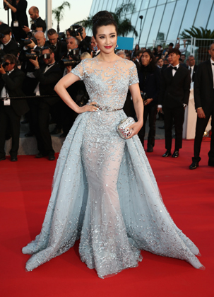 Li Bingbing in Zuhair Murad - Courtesy of ibnlive.in.com