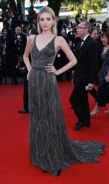 Lily Donaldson in YSL - Courtesy of public.fr