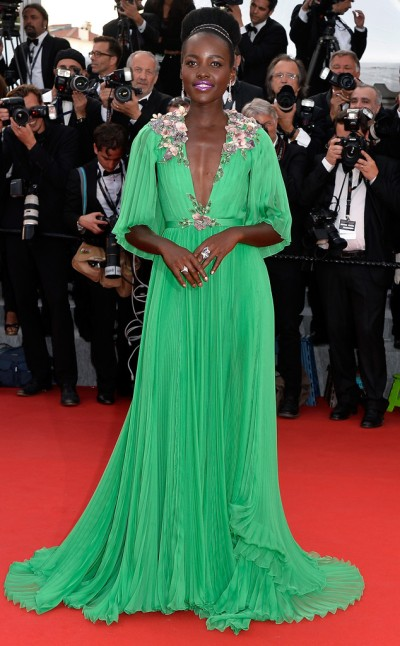 Lupita Nyong'o in Gucci - Photo by Pascal Le Segretain - Getty Images