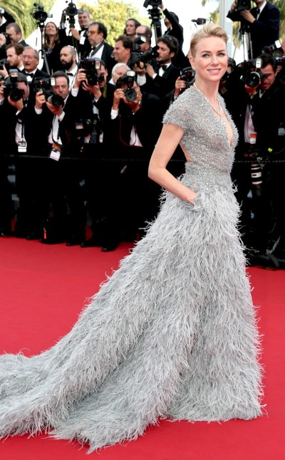 Naomi Watts in Elie Saab - Photo by Gisela Schober - Getty Images