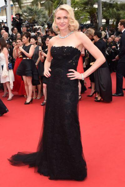Naomi Watts in Ralph Lauren and Bulgari jewels - Courtesy of harpersbazaar.com