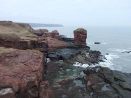 Cliffs of Arbroath - Courtesy of forums.sv650.org