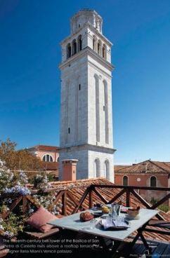 Castello Villa in Venice - Courtesy of homeaway.com