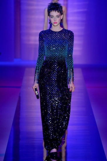 Armani Prive Fall 2015 Couture - Photo by Yannis Vlamos - Indigital Images