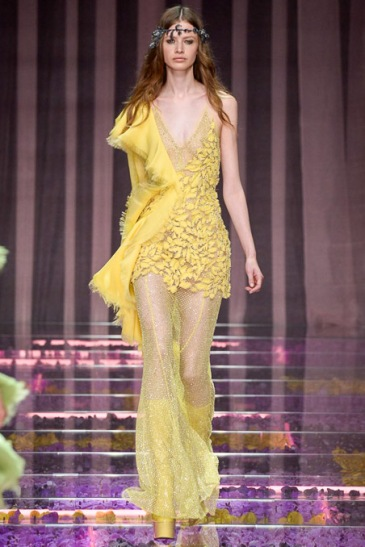 Atelier Versace - Courtesy of style.com