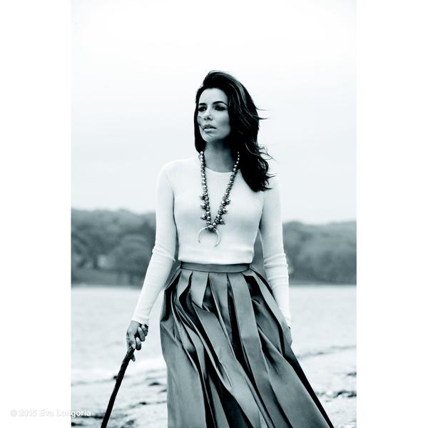 Eva Longoria Courtesy Of Instyle