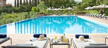 Kasbah Tamadot Outdoor Pool - Courtesy of Kasbah Tamadot