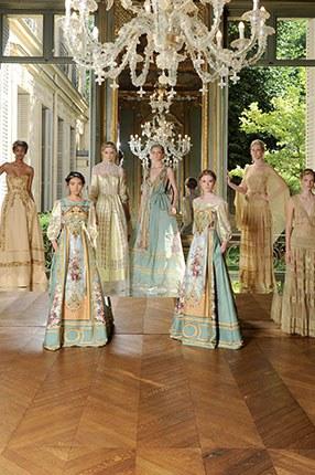 Former Rothschild Mansion Turned Ferretti Show Room - Courtesy of mffashion.com