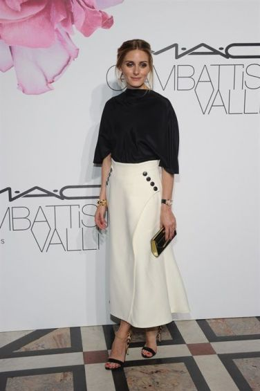 Olivia Palermo in Dior and Francesco Russ - Photo by Richard Bord - Getty Images