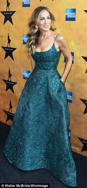 Sarah Jessica Parker in Elie Saab - Photo by Walter McBride - WireImage
