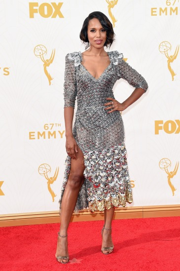 Kerry Washington in Marc Jacobs - Photo by Jason Merritt - Getty Images