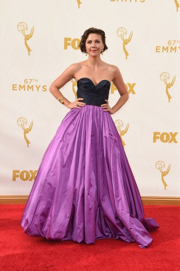 Maggie Gyllenhaal in Oscar de la Renta - Photo by Steve Granitz