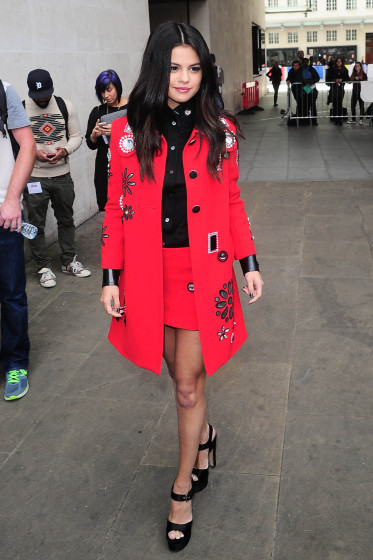 Selena Gomez in Marc Jacobs - Photo by AKM - GSI