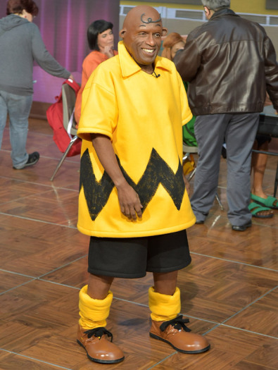 Al Roker as Charlie Brown - Courtesy of Getty Images