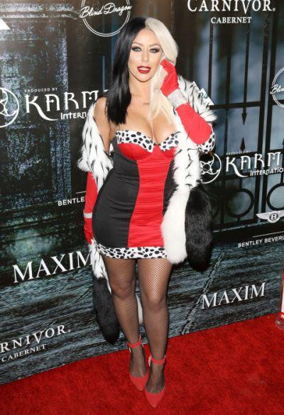 Aubrey O'Day as Cruelle de Vil - Courtesy of Getty Images