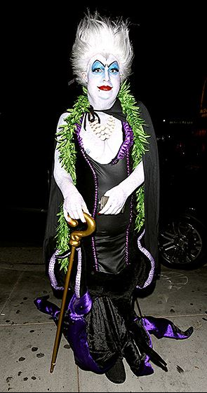Colton Haynes of The Arrow as Ursula of The Little Mermaid - Courtesy of HEDO - AKM-GSI