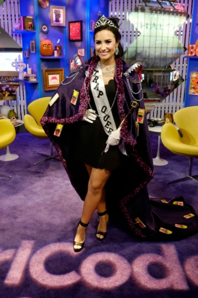 Demi Lovato as Trap Queen - Courtesy of Getty Images