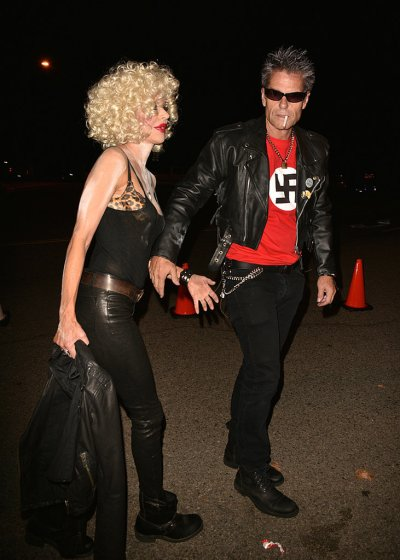 Harry Hamlin and Lisa Rinna as Sid Vicious and Nancy Spungen - Courtesy of FameFlynet