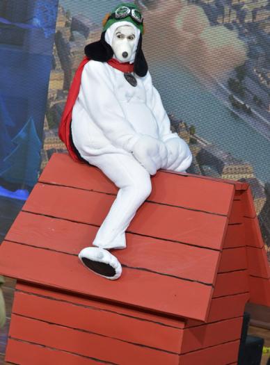 Hoda Kotb as Snoopy - Courtesy of Getty Images