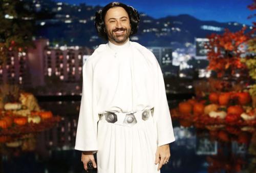 Jimmy Kimmel as Princess Leia - Courtesy of ABC